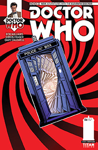Doctor Who: The Eleventh Doctor #6. Portada: Verity Glass.