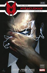 All New Miracleman Annual #1. Portada por: Gabriele Dell'otto.