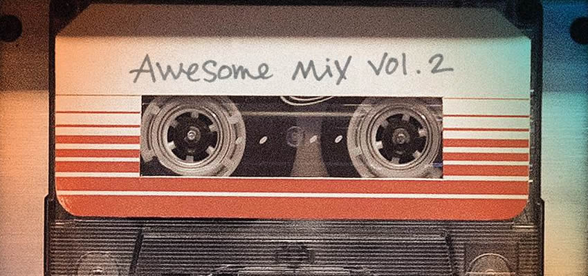 "Revelan el tracklist de ""Awesome Mix Vol. 2"""