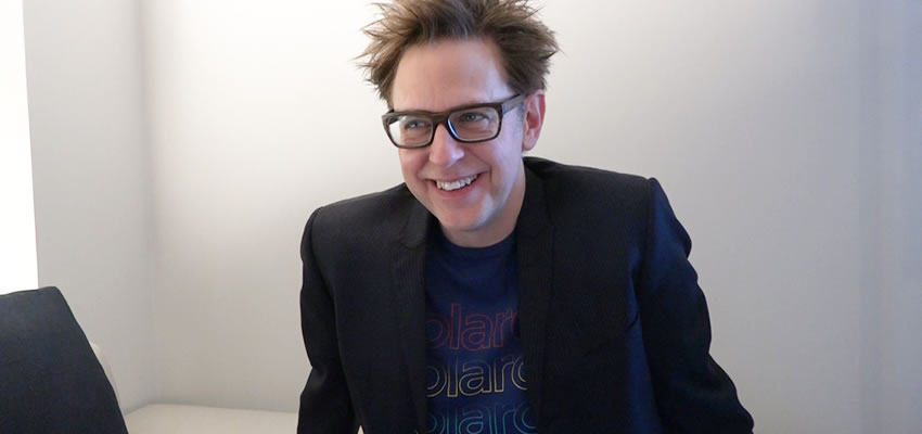 "James Gunn regresará para escribir y dirigir ""Guardians of the Galaxy Vol.3"""
